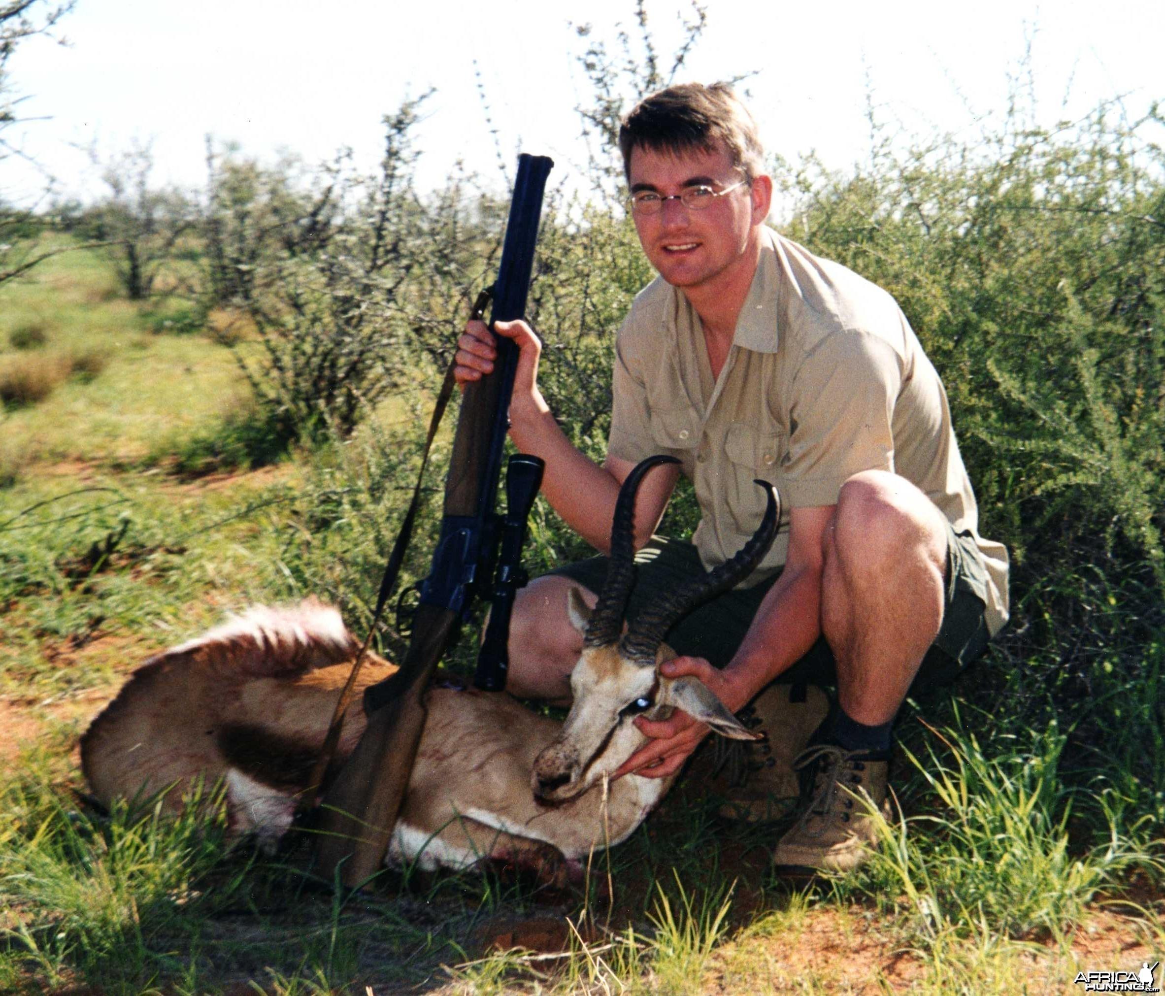 Springbuck, Namibia 2004