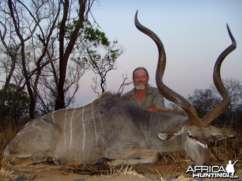 "Greater kudu 57"" plus"