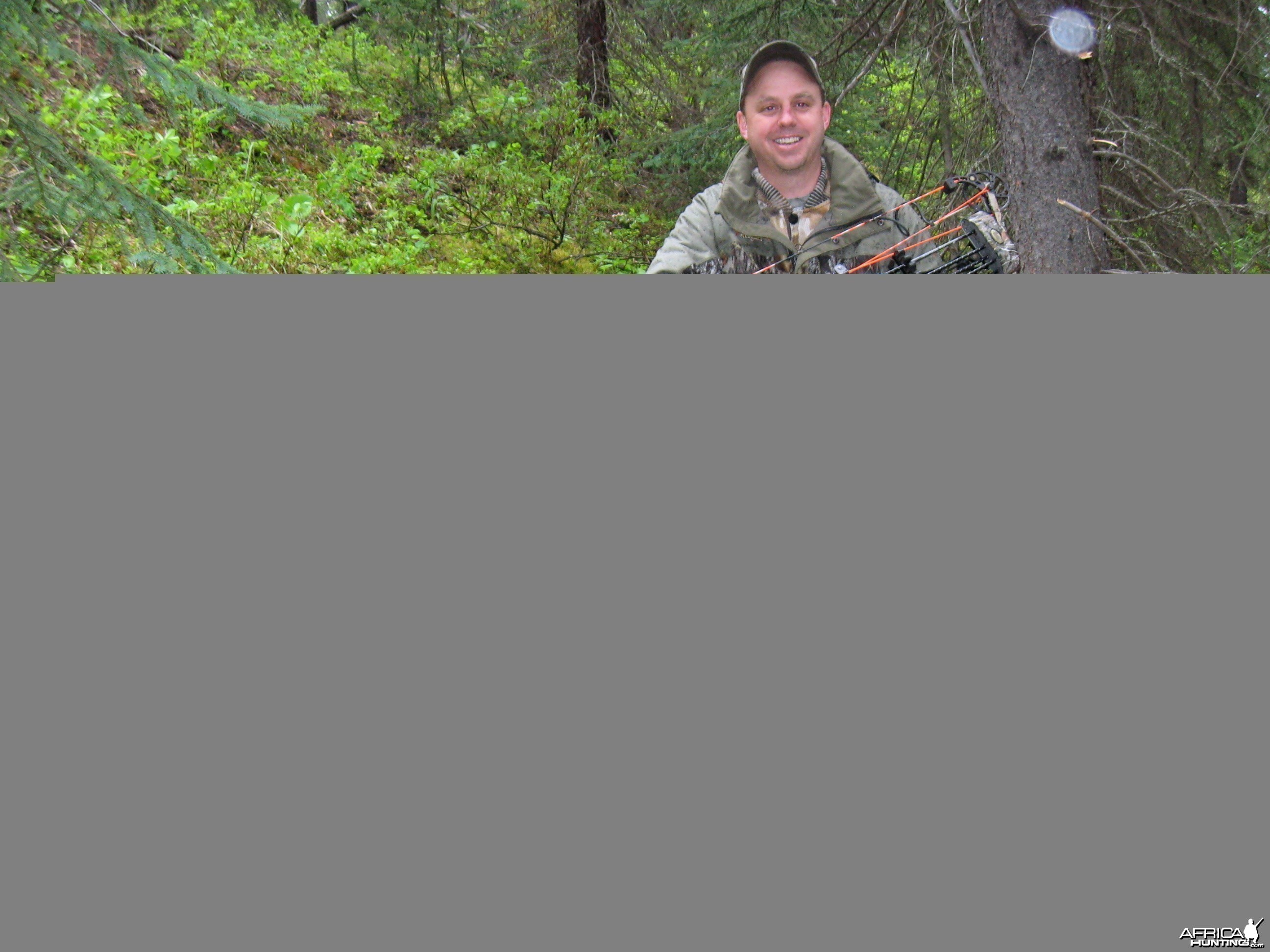 Nice bear taken with archery tackle