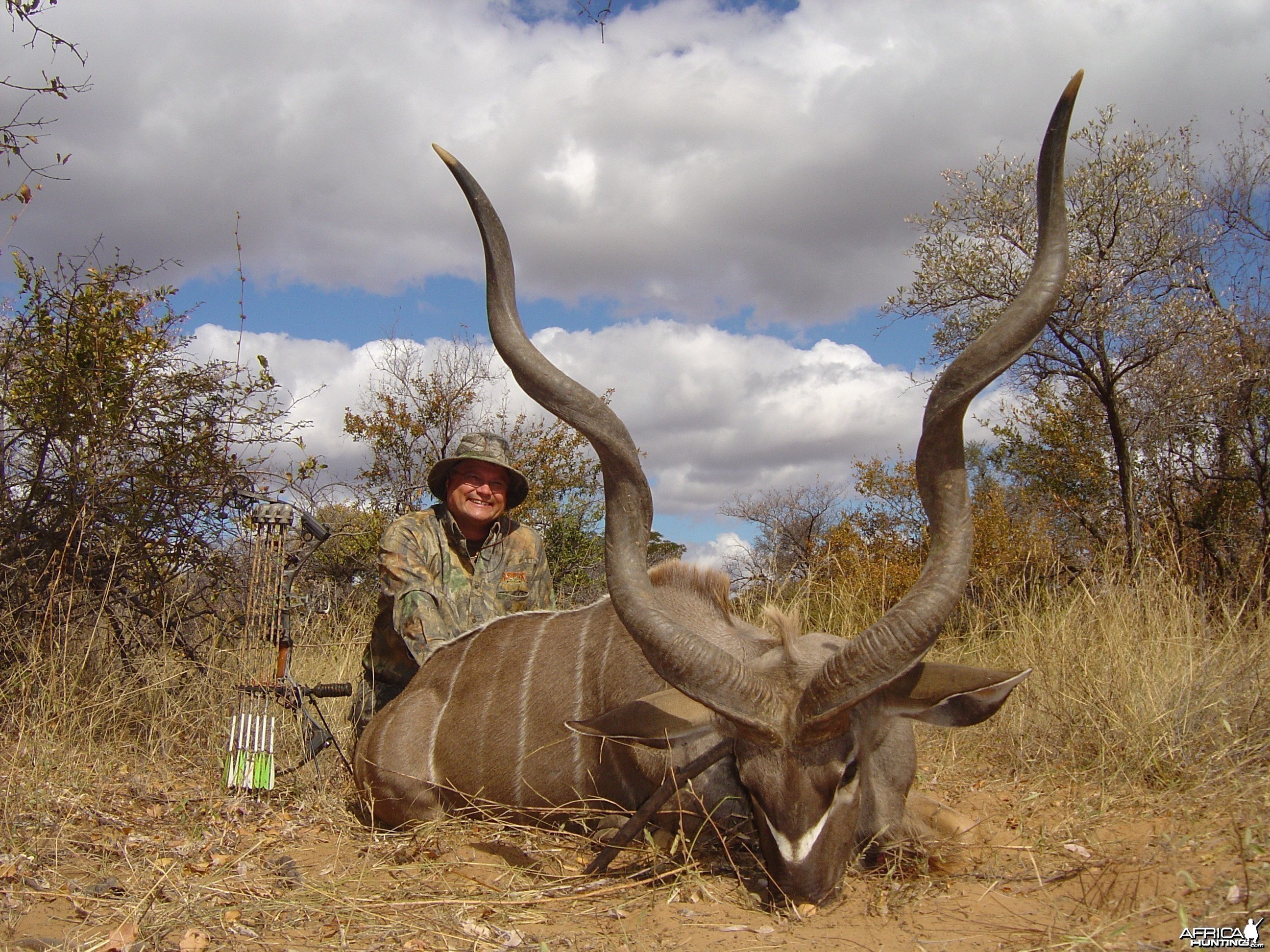 Bow Hunting Kudu 2006 RSA Limpopo trip