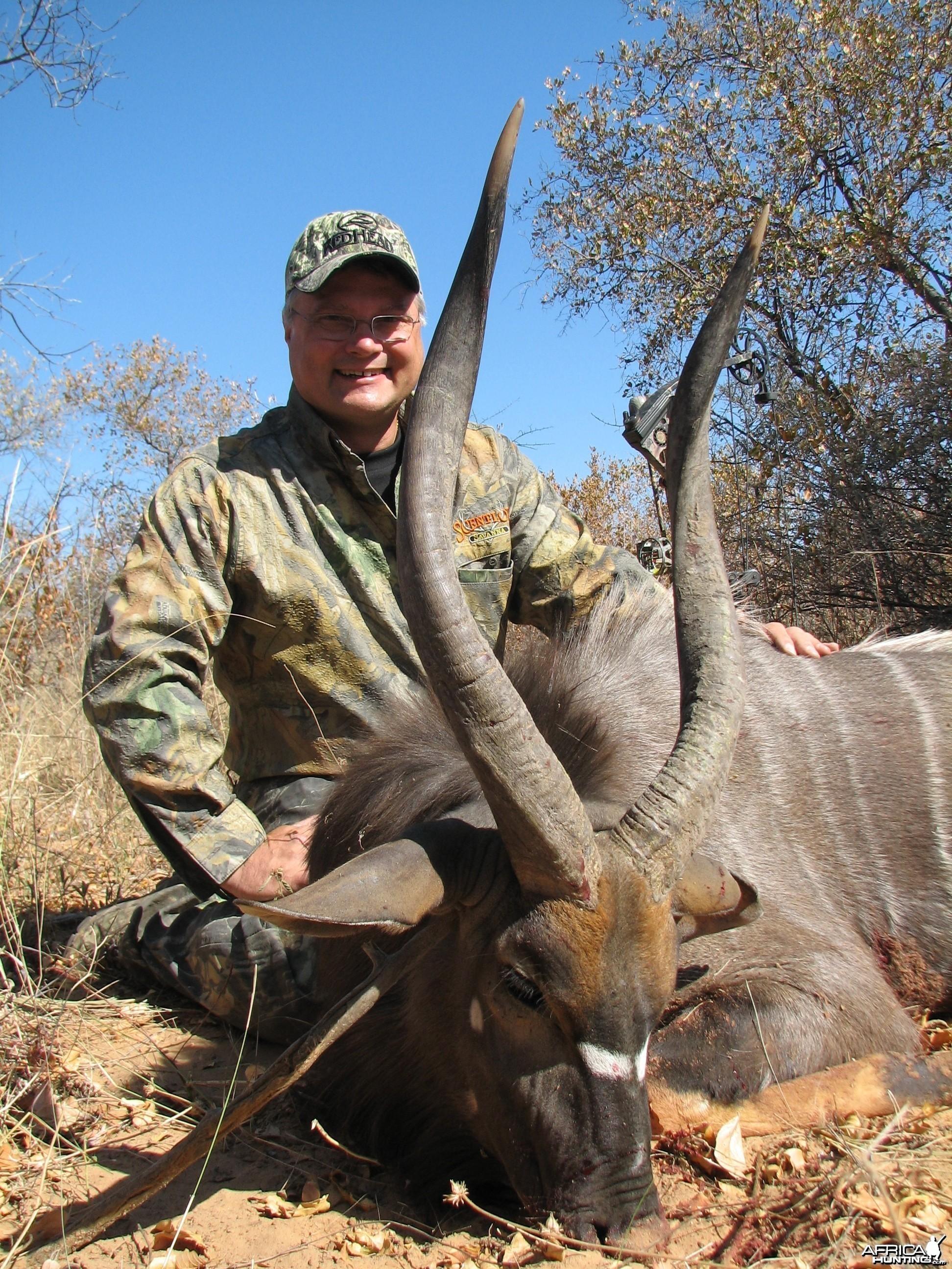 Bow Hunting Nyala 2006 RSA Limpopo trip