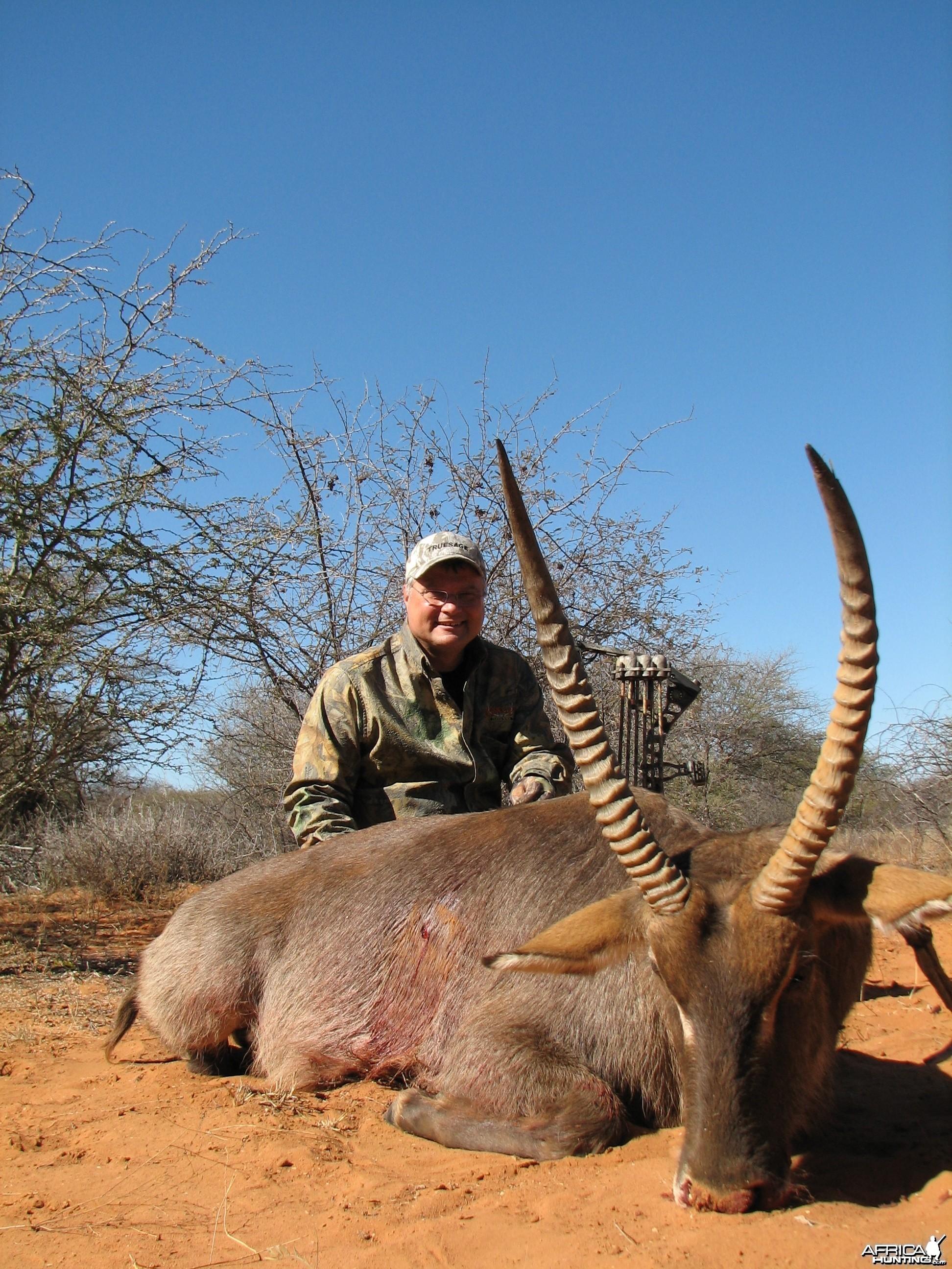 Bow Hunting Waterbuck 2006 RSA Limpopo trip