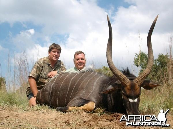 Hunting Nyala at Sadaka Safaris, South Africa, Limpopo
