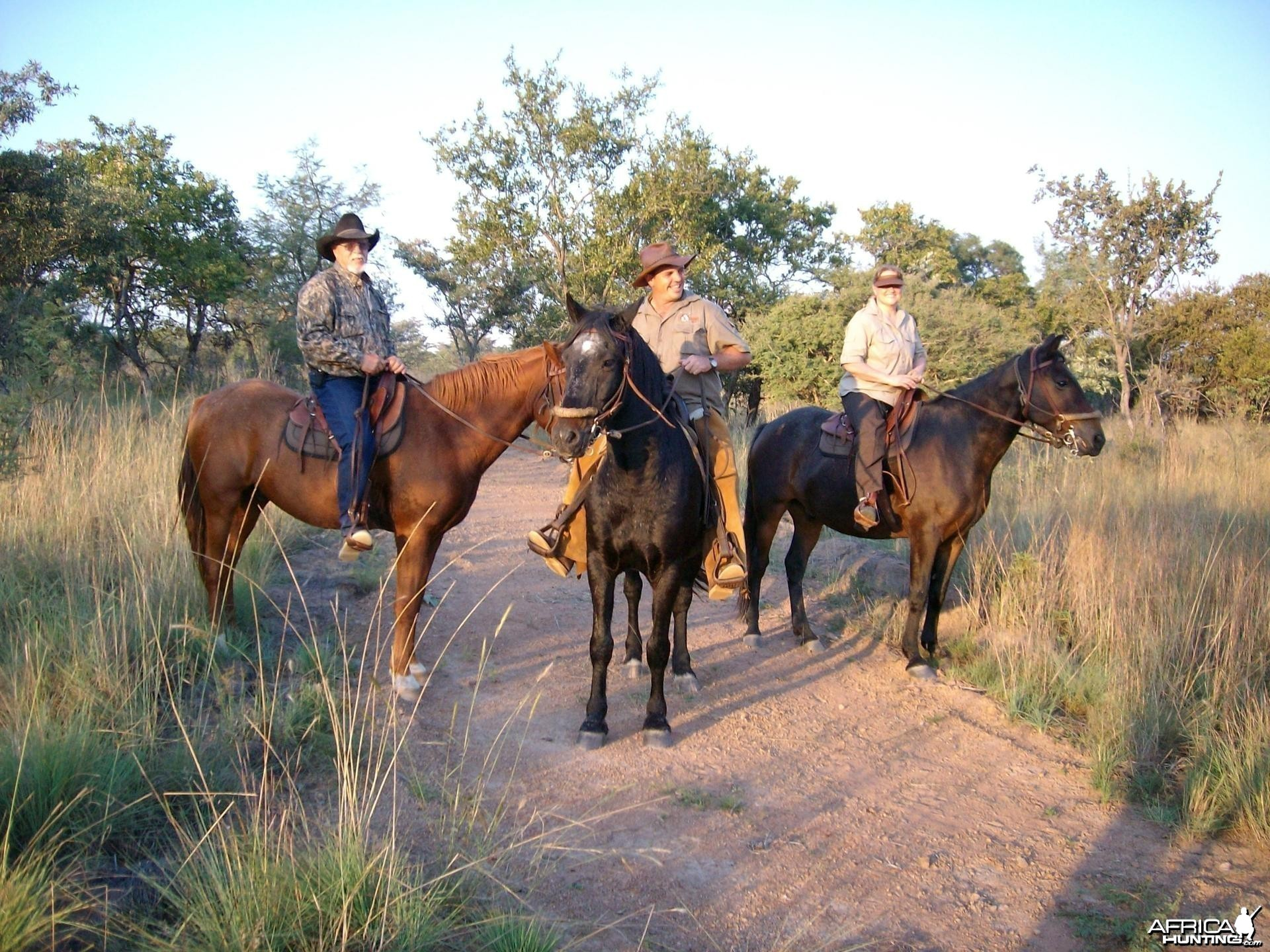 Riding Horses at Sadaka Safaris, South Africa, Limpopo