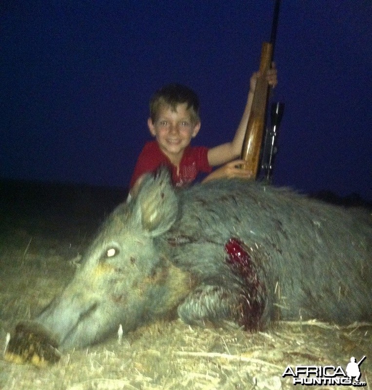 Good Friday Hog for my boy