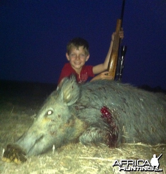 Good Friday Hog for my boy
