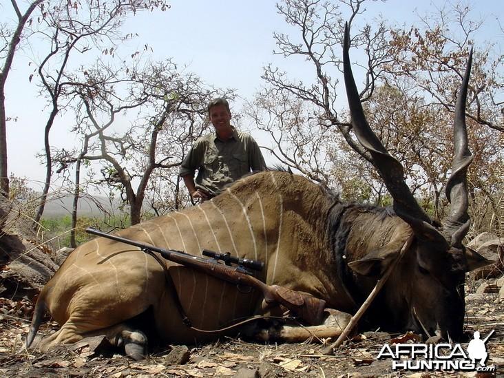 Hunting Giant Eland