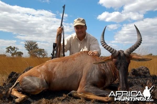 Hunting Tsessebe