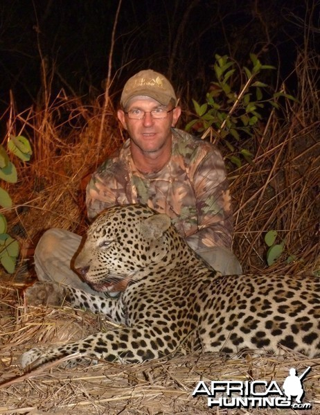 Hunting Leopard in Central African Republic