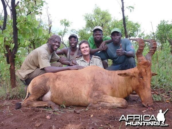 Hunting Lelwel Hartebeest in CAR