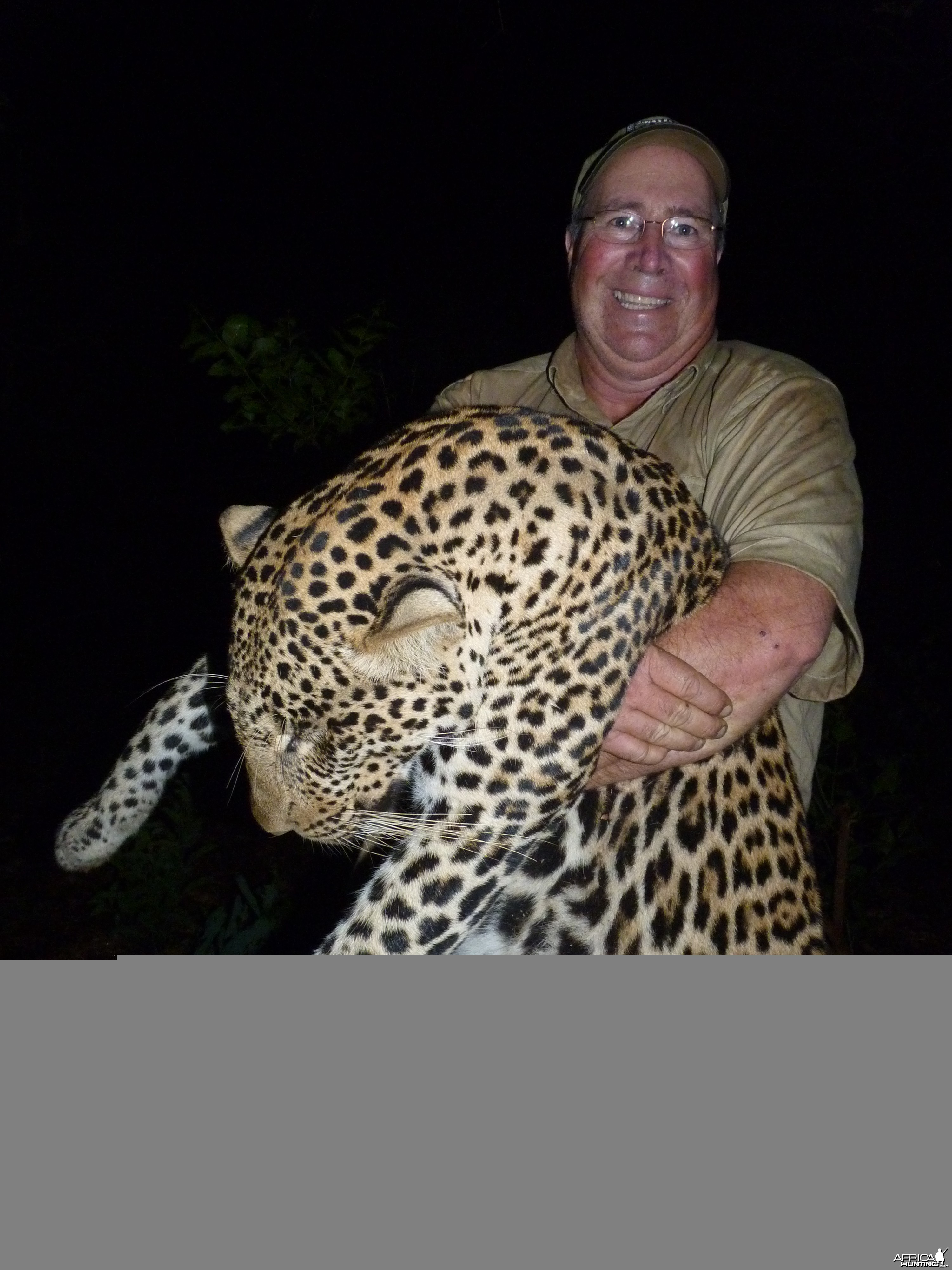 Leopard hunted in CAR