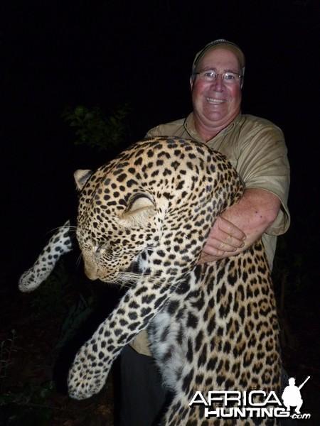 Leopard hunted in CAR