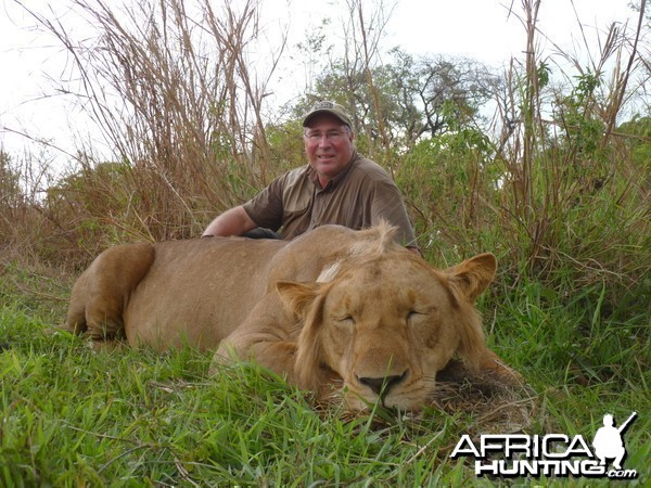 Lion hunted in CAR