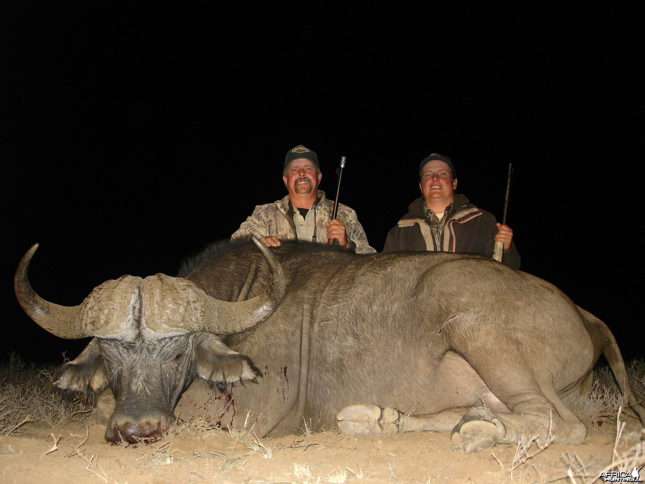 PH Ricus de Villiers with Wintershoek Johnny Vivier Safaris in South Africa