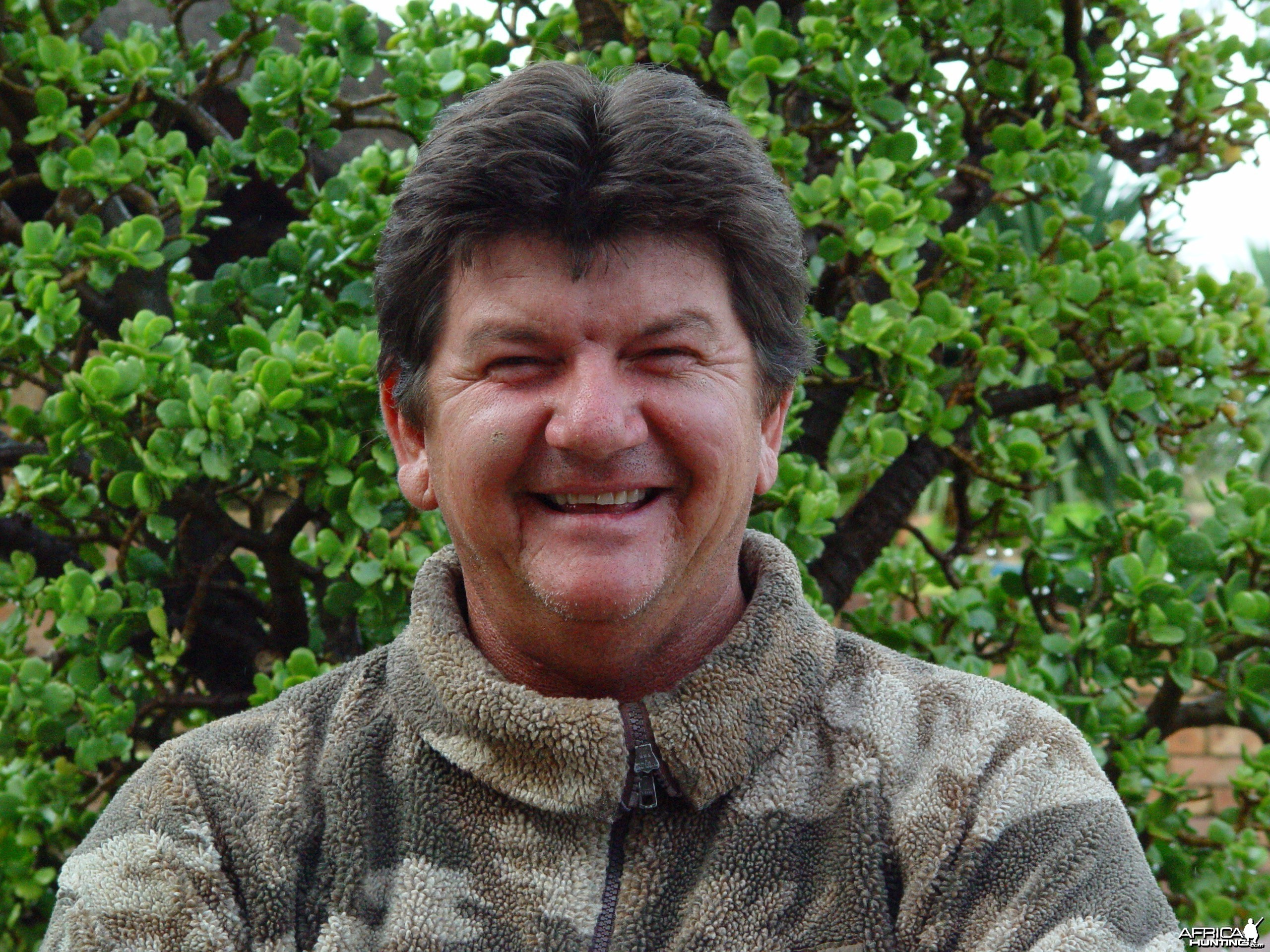 PH Johnny Vivier with Wintershoek Johnny Vivier Safaris in South Africa