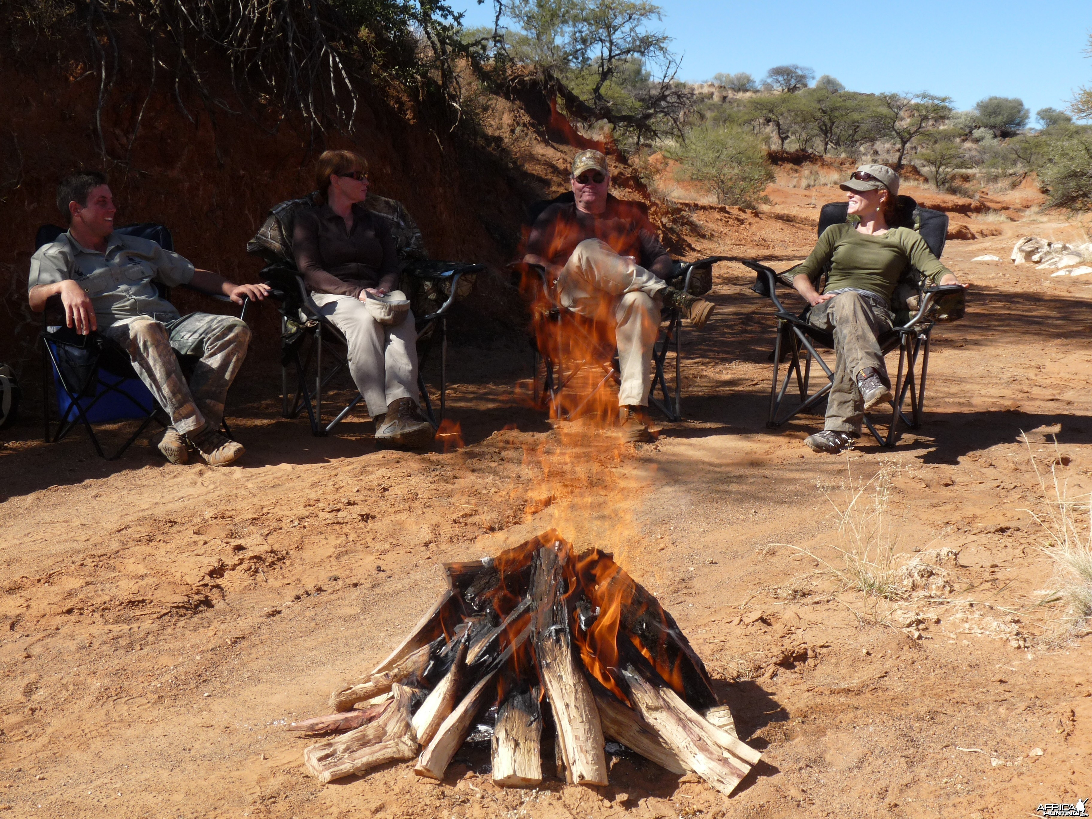 Bush Braai with Wintershoek Johnny Vivier Safaris in South Africa