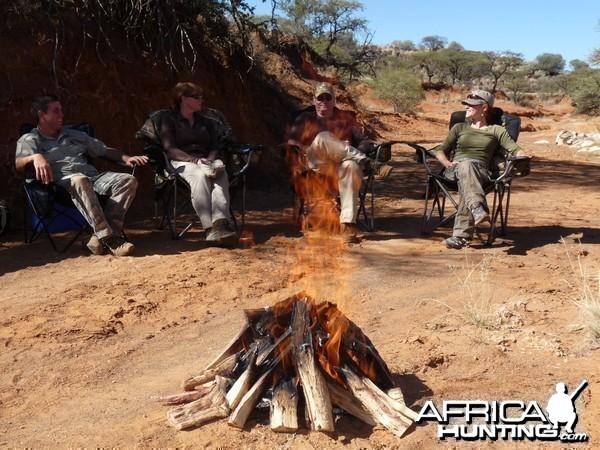 Bush Braai with Wintershoek Johnny Vivier Safaris in South Africa