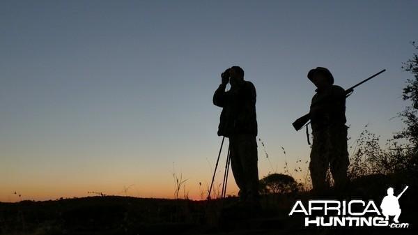 Hunting with Wintershoek Johnny Vivier Safaris in South Africa