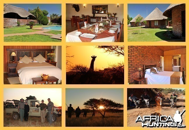 Gamagara Lodge - Wintershoek Johnny Vivier Safaris in South Africa