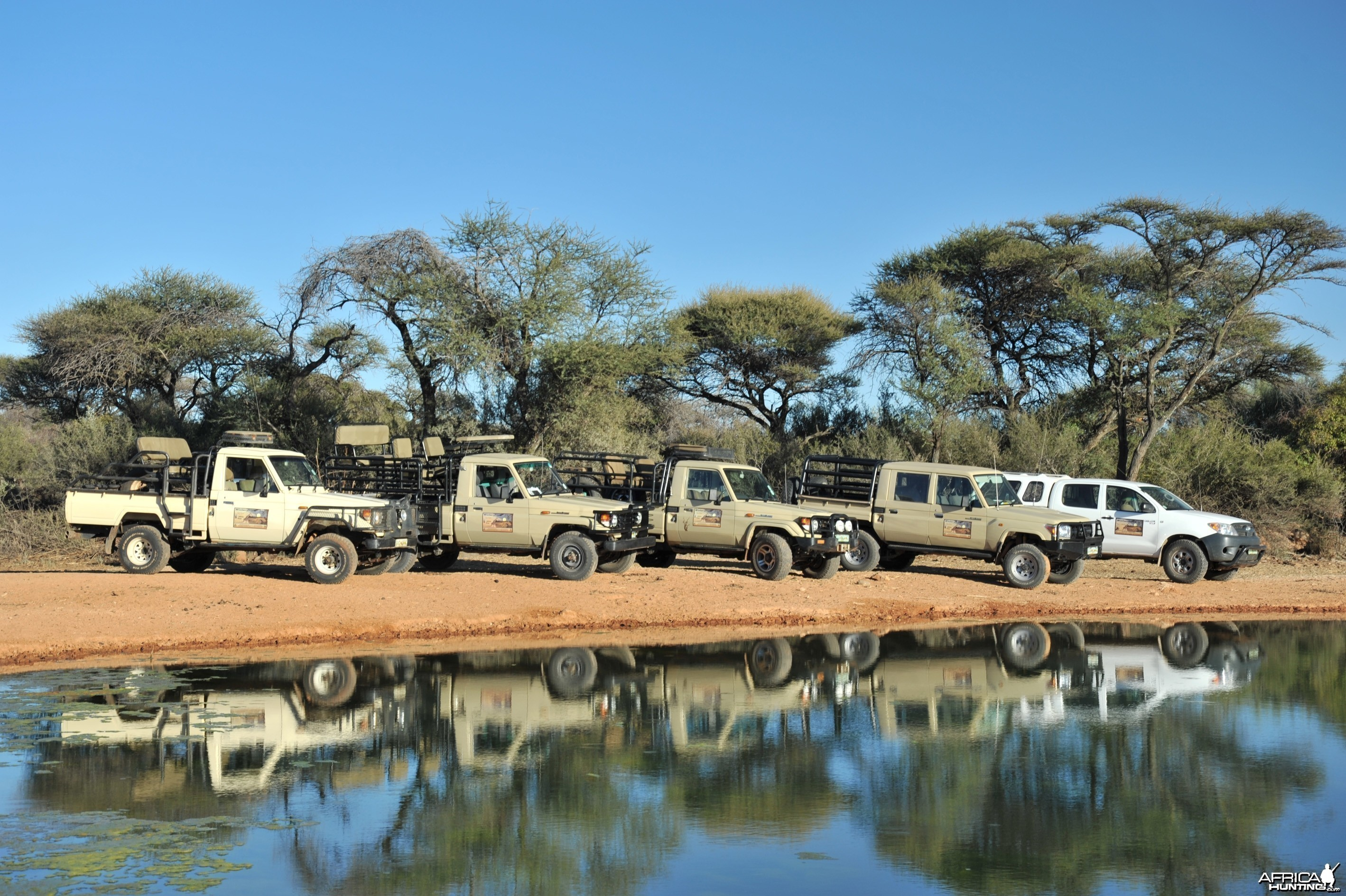 Hunting Vehicles - Wintershoek Johnny Vivier Safaris in South Africa