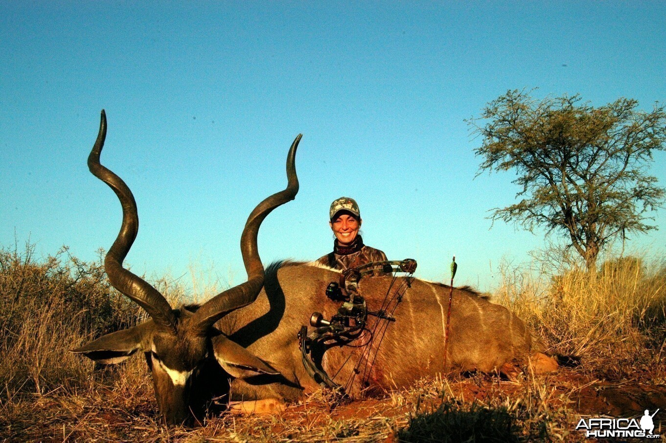 Bowhunting Kudu with Wintershoek Johnny Vivier Safaris in South Africa