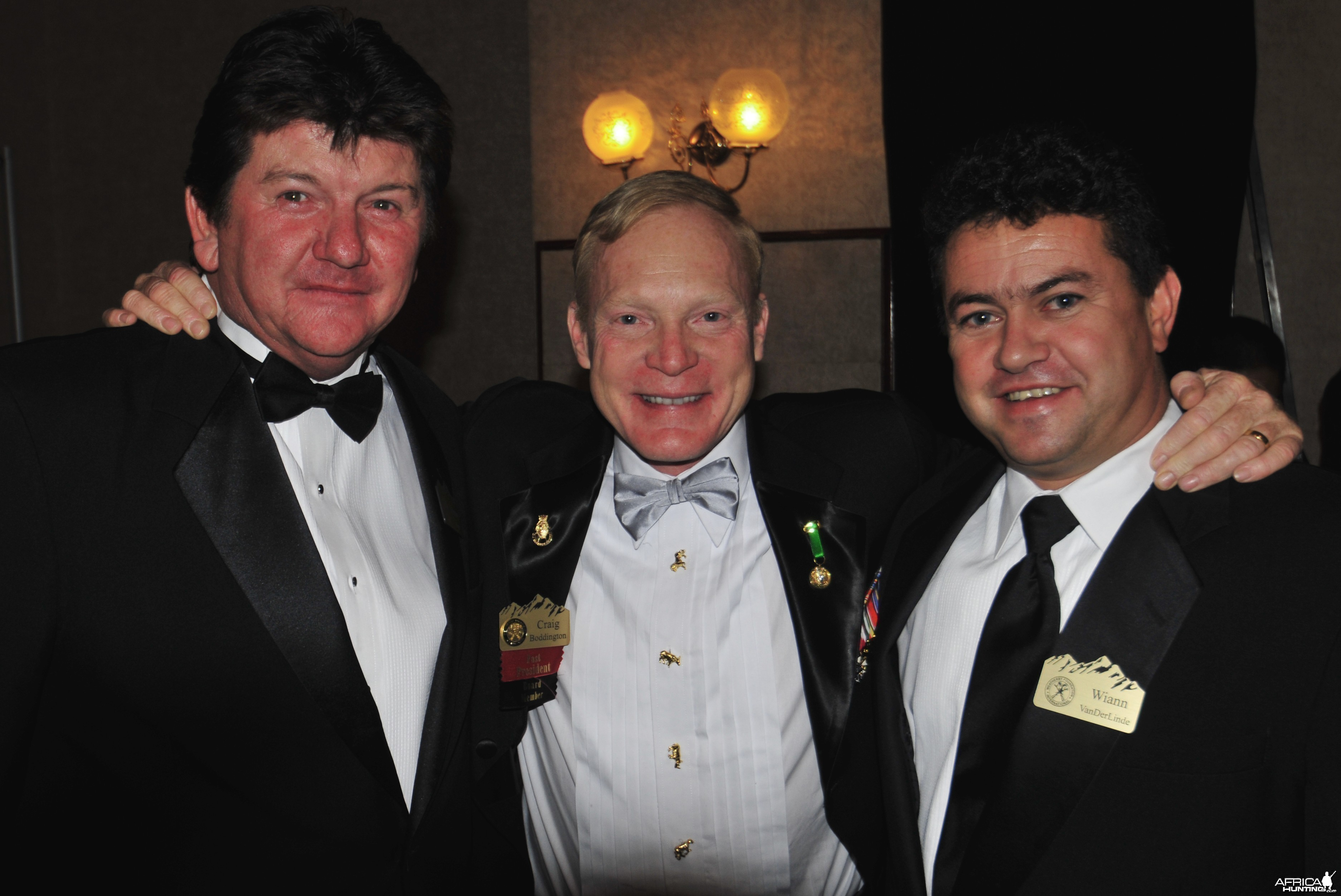 Johnny Vivier, Craig Boddington and Wiaan van der Linde