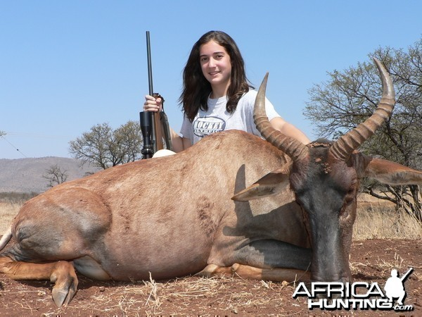 Hunting Tsessebe with Wintershoek Johnny Vivier Safaris in SA
