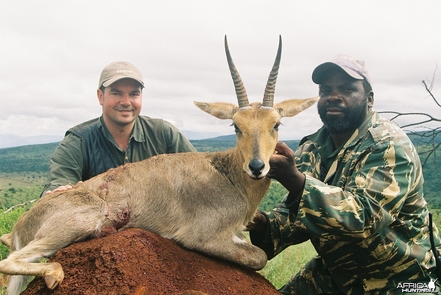 Hunting Mountain Reedbuck with Wintershoek Johnny Vivier Safaris in SA