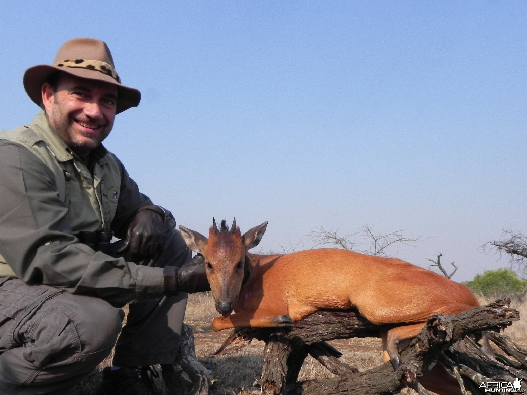 Hunting Red Duiker with Wintershoek Johnny Vivier Safaris in SA