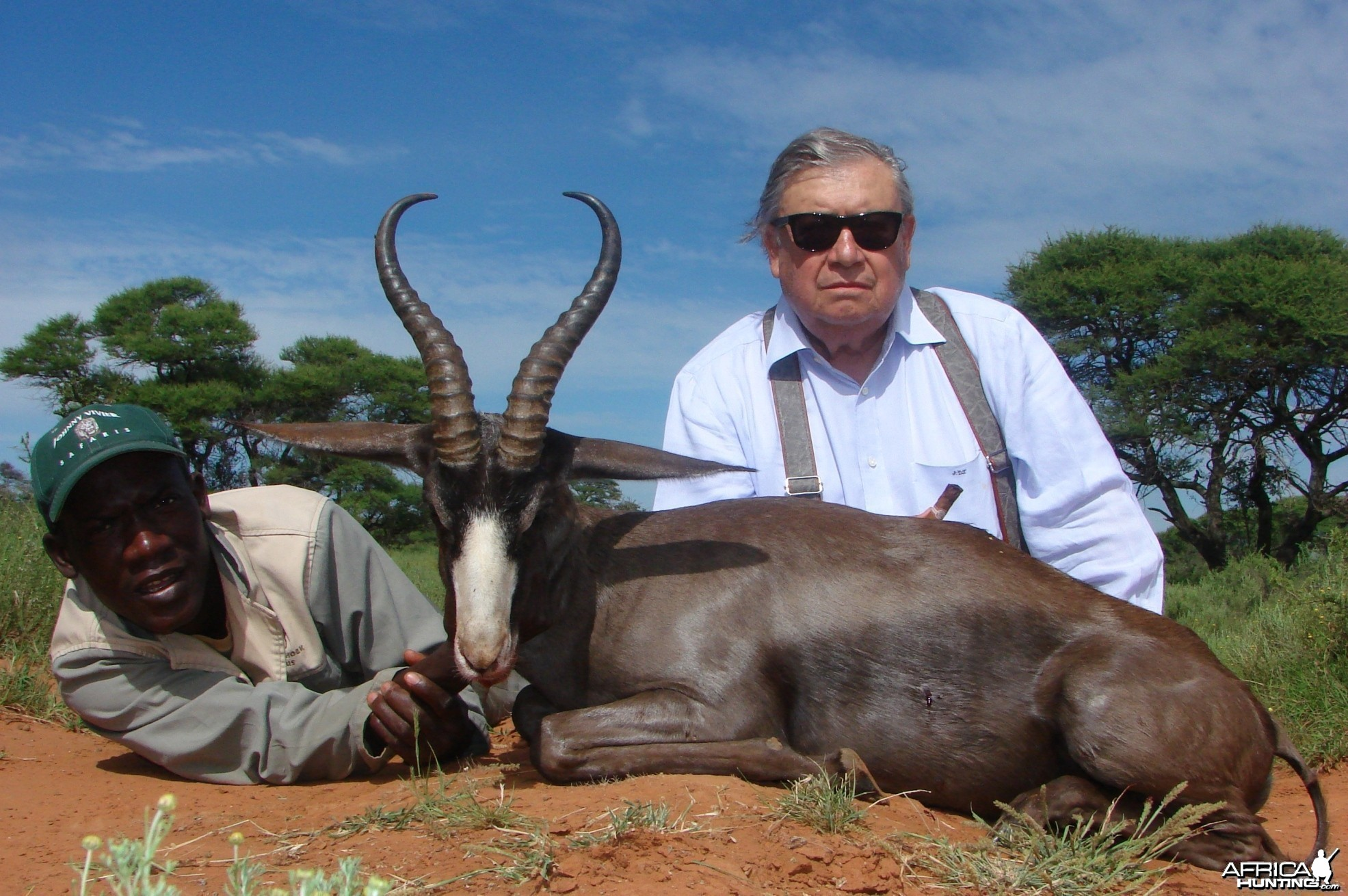 Hunting Black Springbuck with Wintershoek Johnny Vivier Safaris in SA