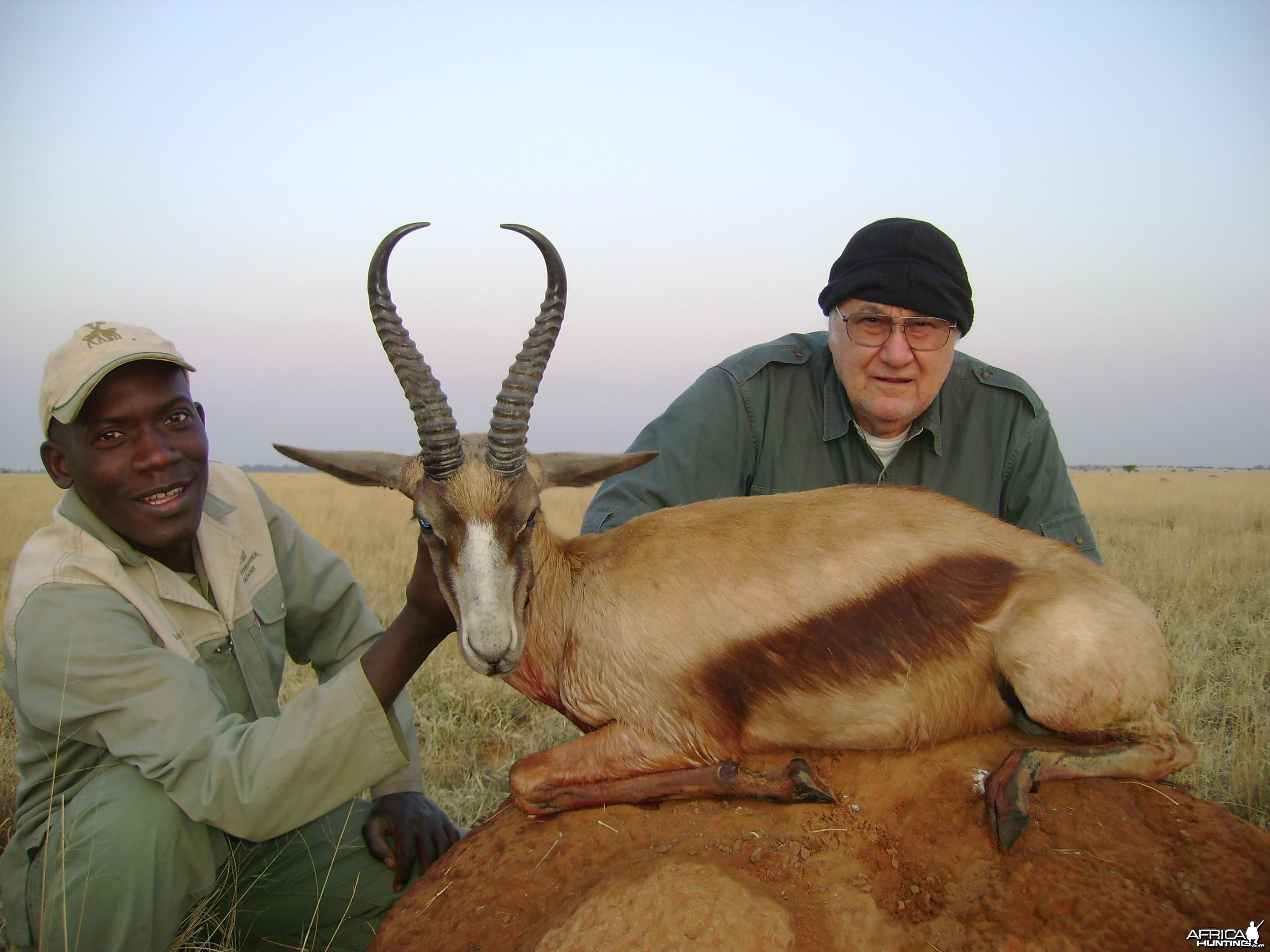 Hunting Copper Springbuck with Wintershoek Johnny Vivier Safaris in SA