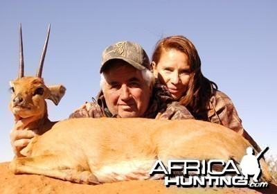 Hunting Steenbuck with Wintershoek Johnny Vivier Safaris in SA
