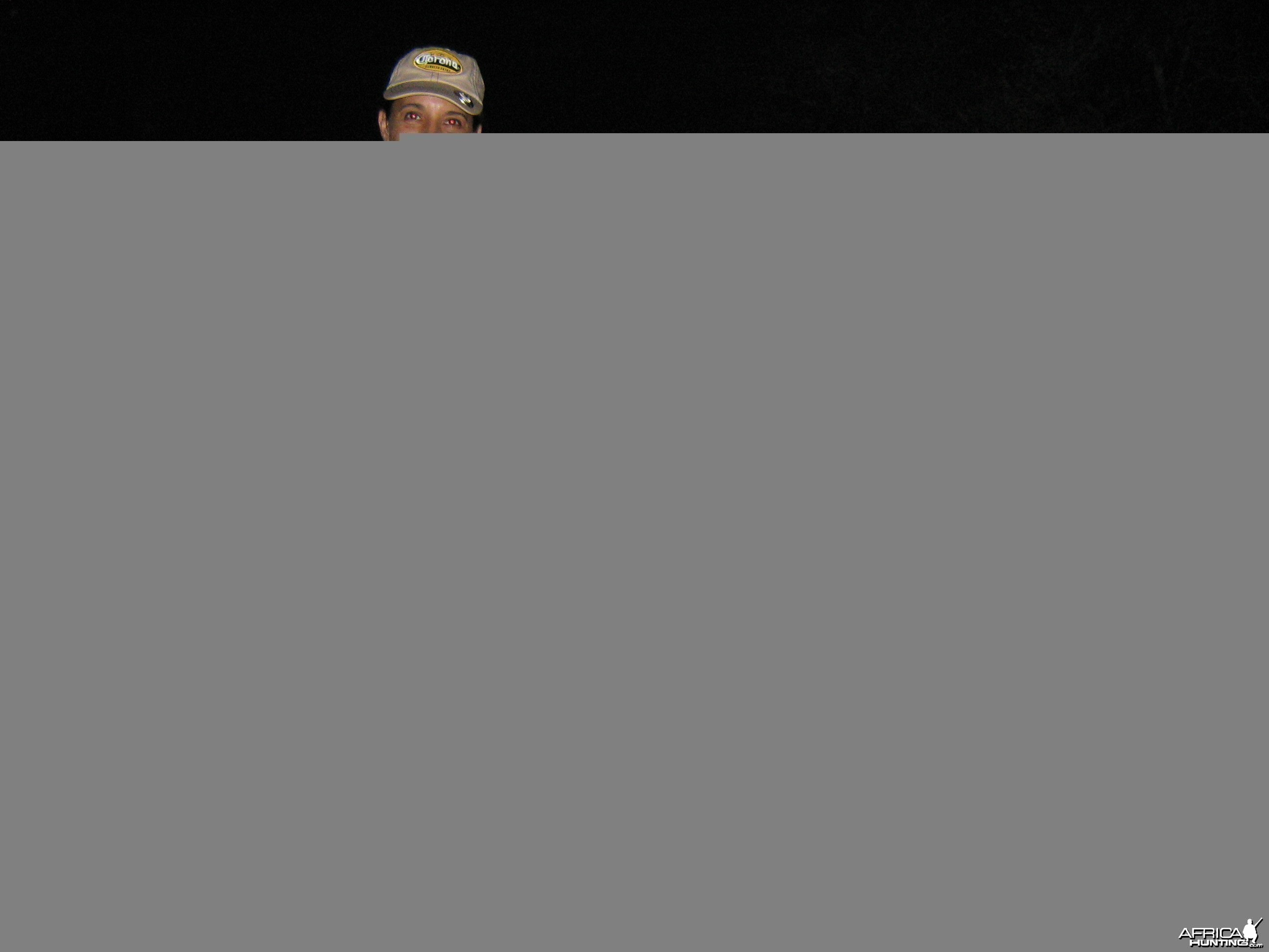 Hunting Bush Pig with Wintershoek Johnny Vivier Safaris in SA