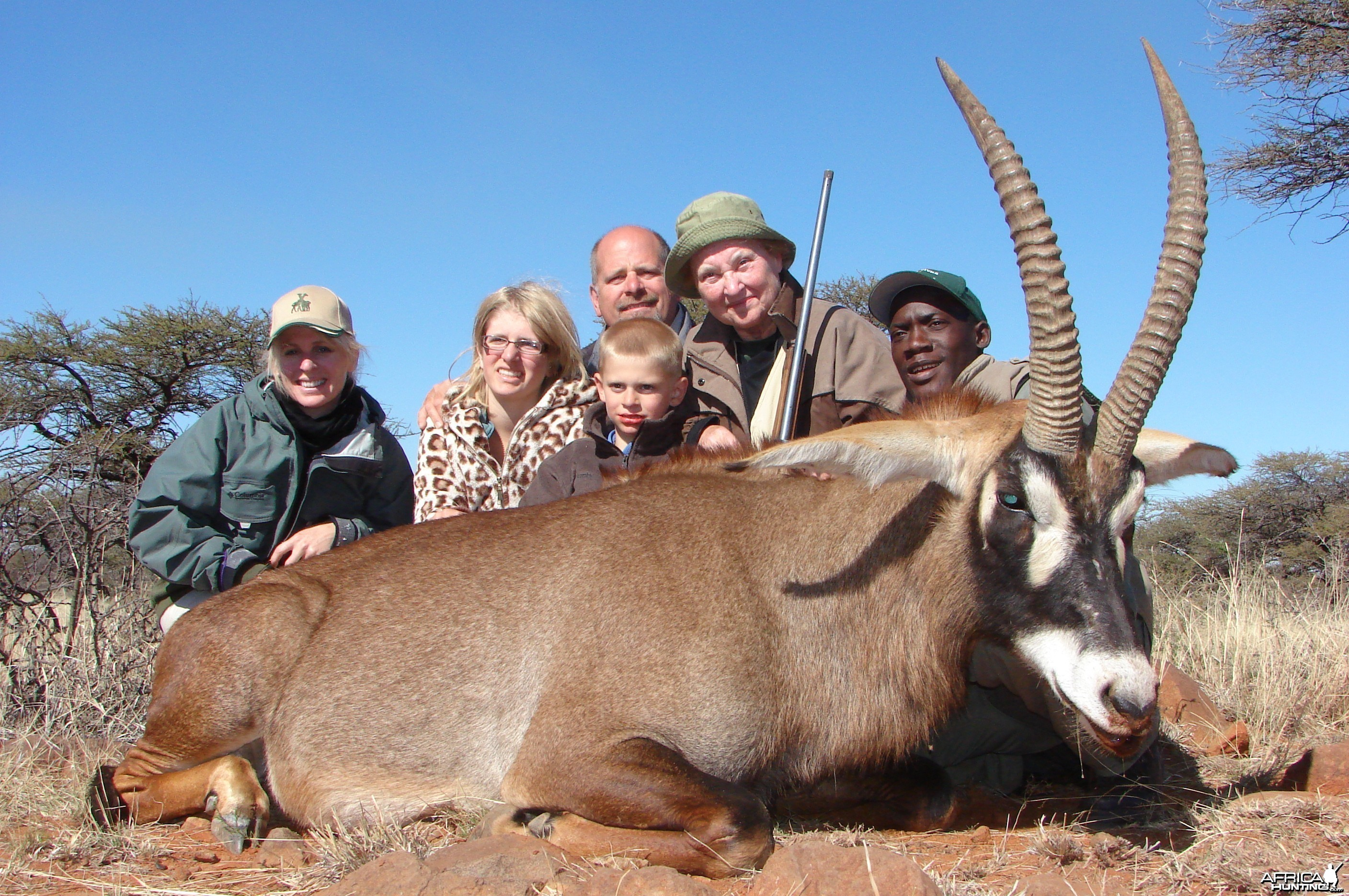 Hunting Roan with Wintershoek Johnny Vivier Safaris in SA