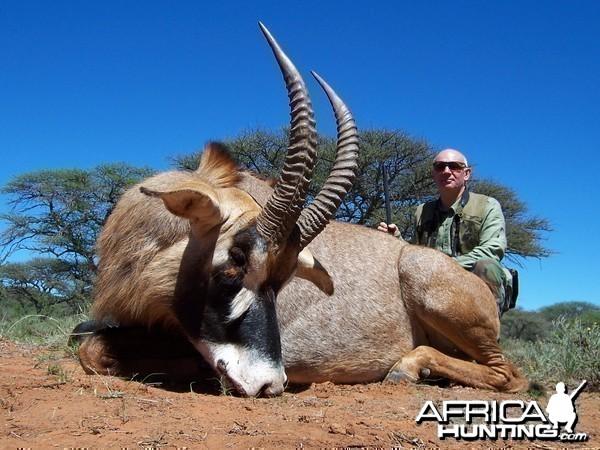 Hunting Roan with Wintershoek Johnny Vivier Safaris in SA