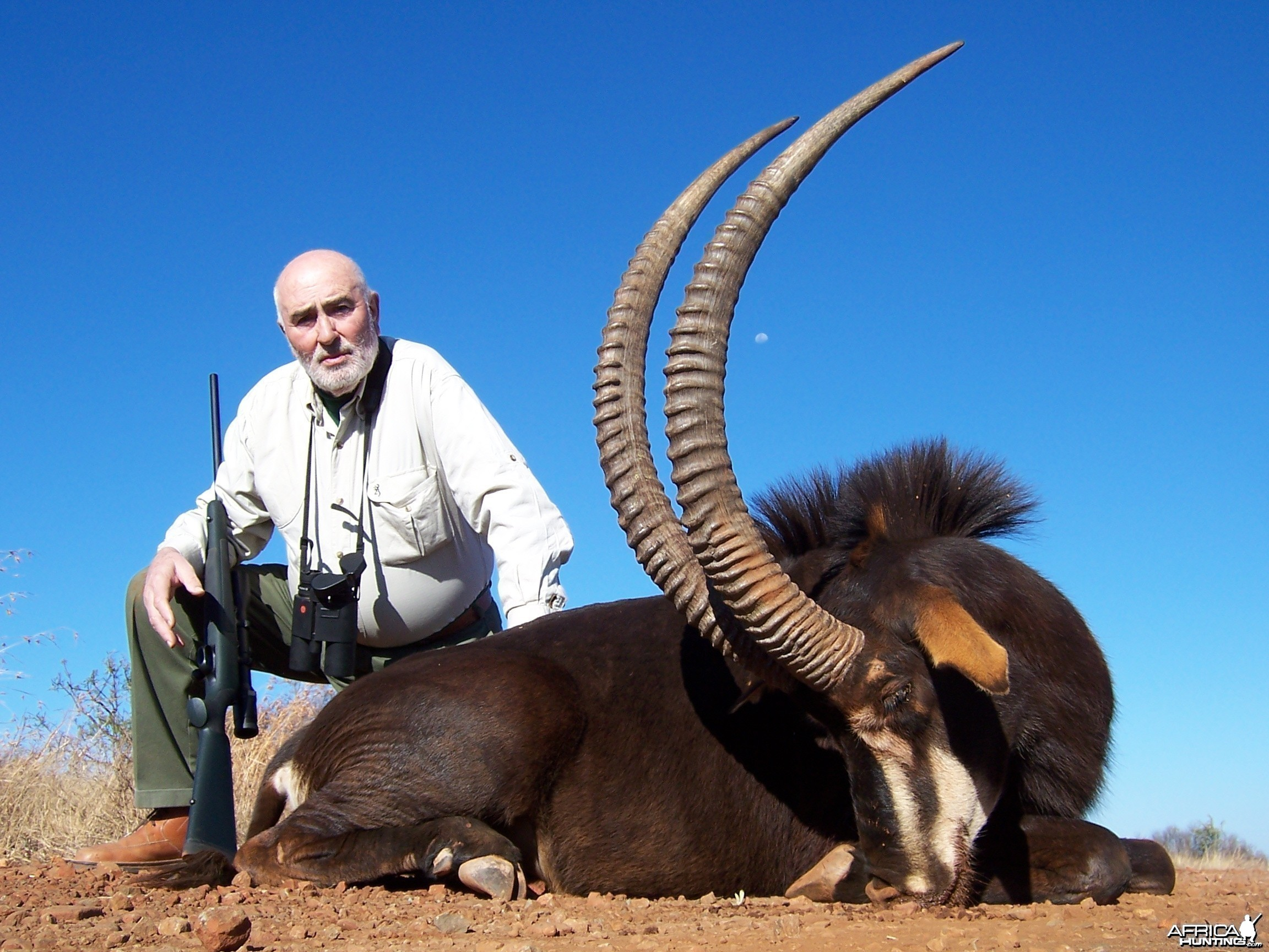 Hunting Sable with Wintershoek Johnny Vivier Safaris in SA