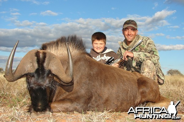 Hunting Black Wildebeest with Wintershoek Johnny Vivier Safaris in SA