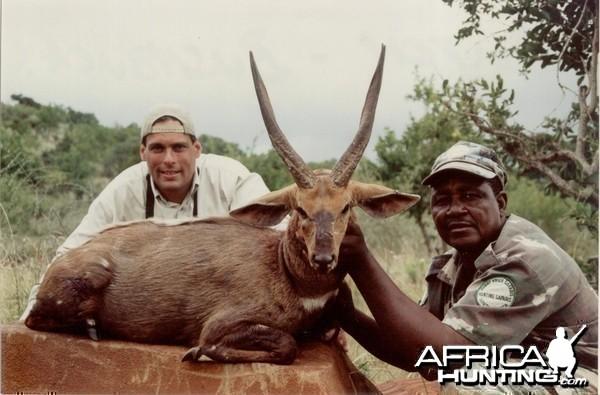 Hunting Bushbuck with Wintershoek Johnny Vivier Safaris in SA