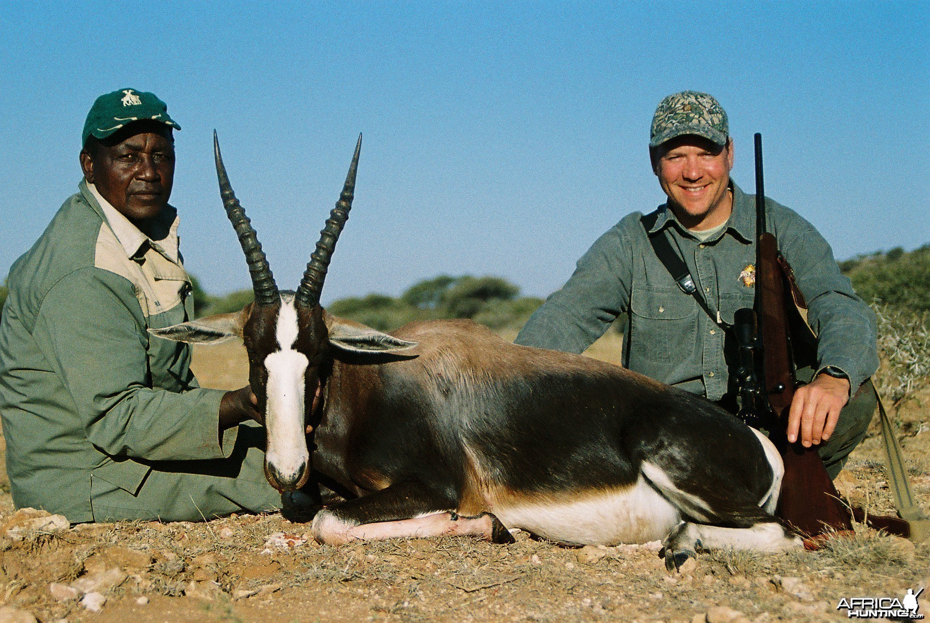 Hunting Bontebuck with Wintershoek Johnny Vivier Safaris in SA
