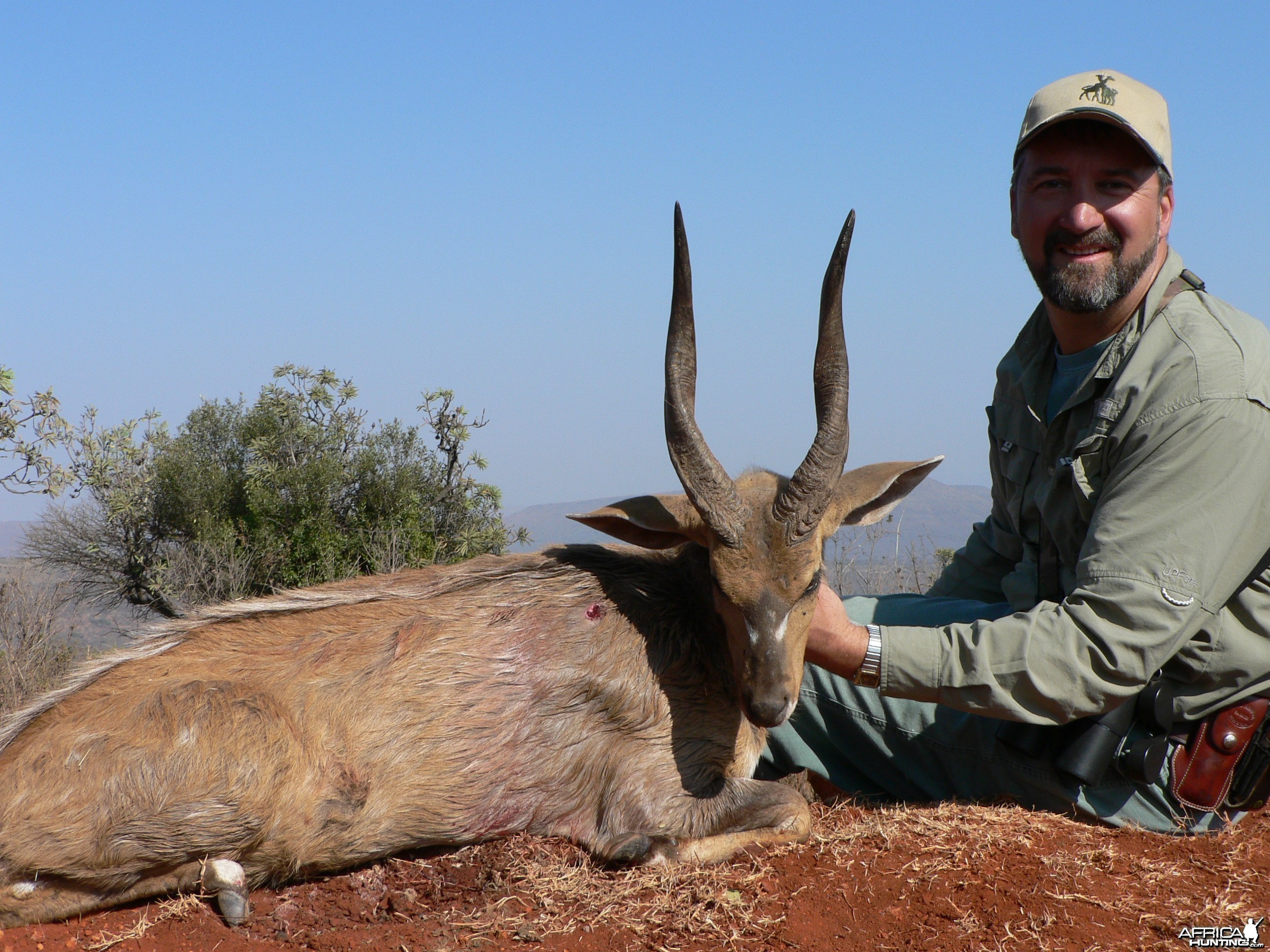 Hunting Bushbuck with Wintershoek Johnny Vivier Safaris in SA