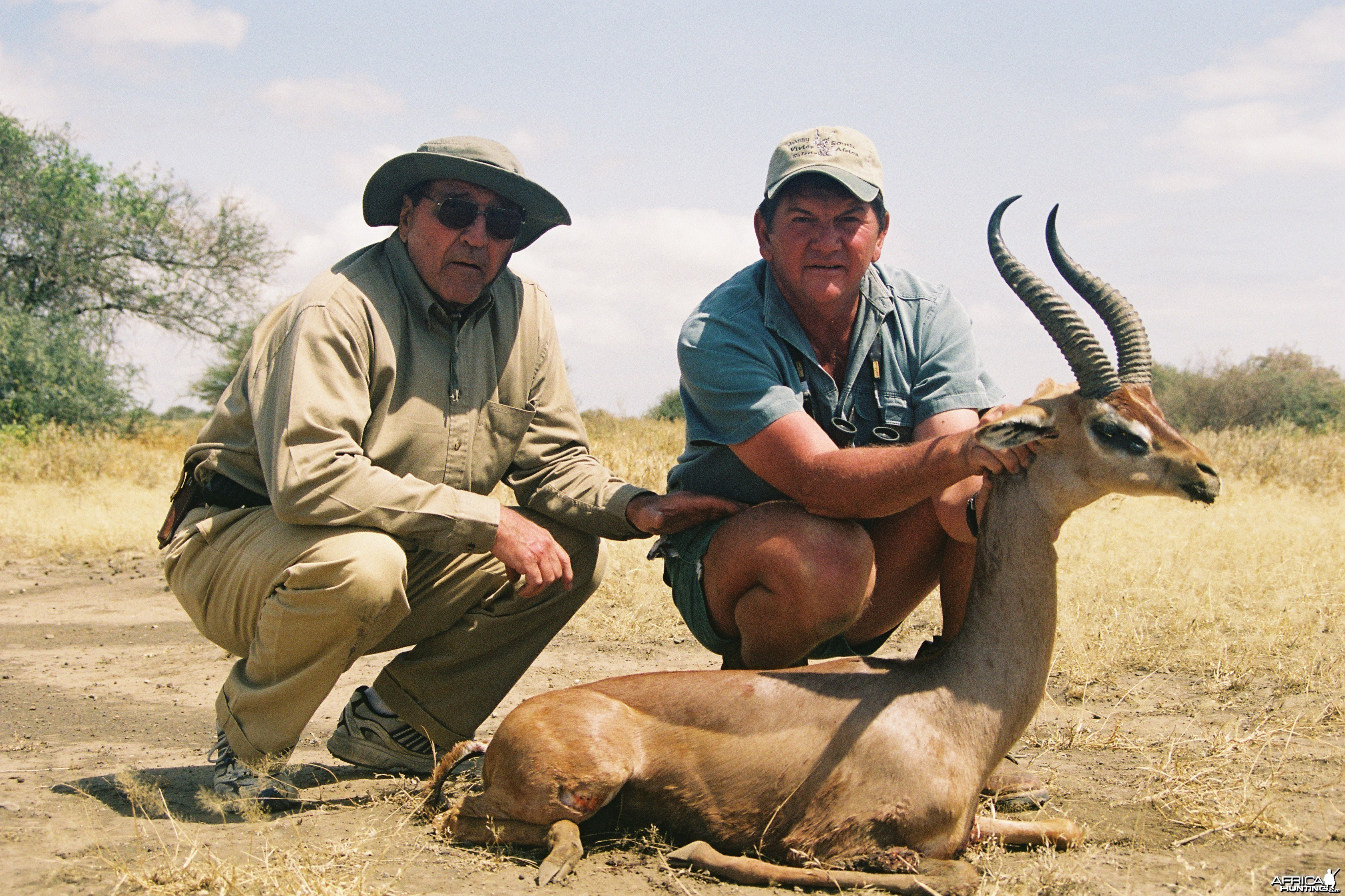 Hunting Gerenuk with Wintershoek Johnny Vivier Safaris in SA