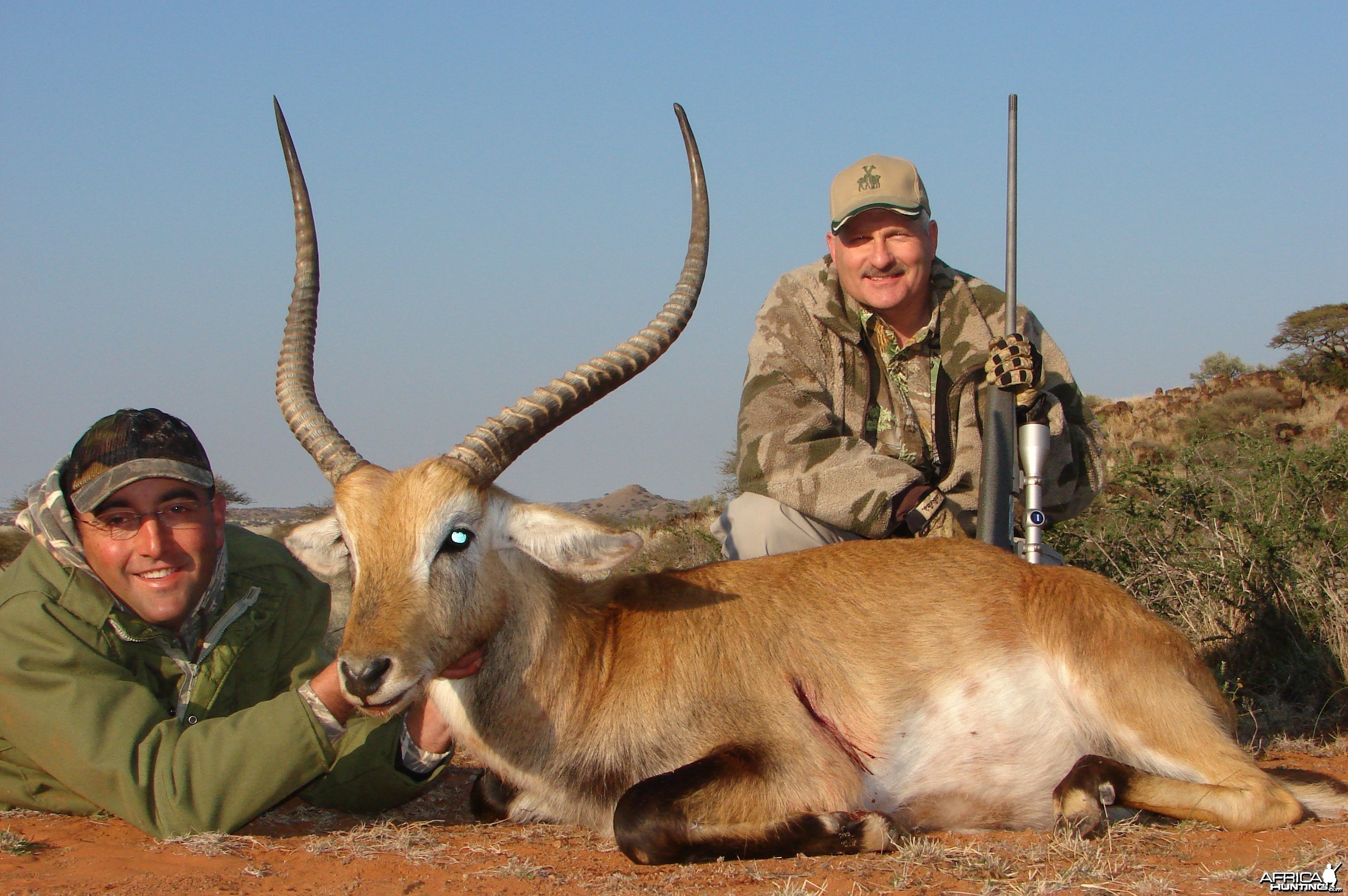 Hunting Lechwe with Wintershoek Johnny Vivier Safaris in SA