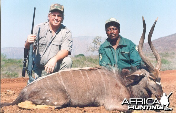 Hunting Nyala with Wintershoek Johnny Vivier Safaris in SA