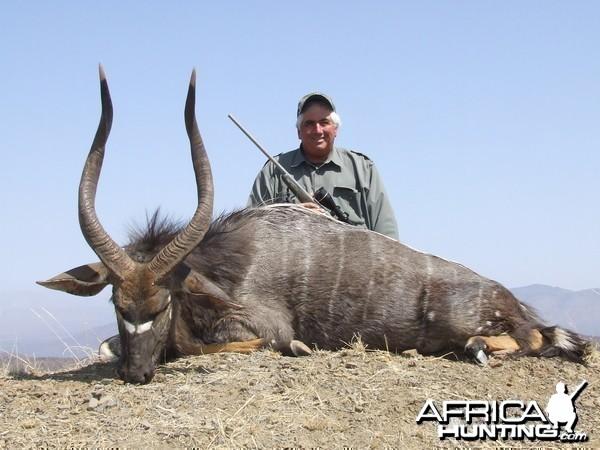 Hunting Nyala with Wintershoek Johnny Vivier Safaris in SA