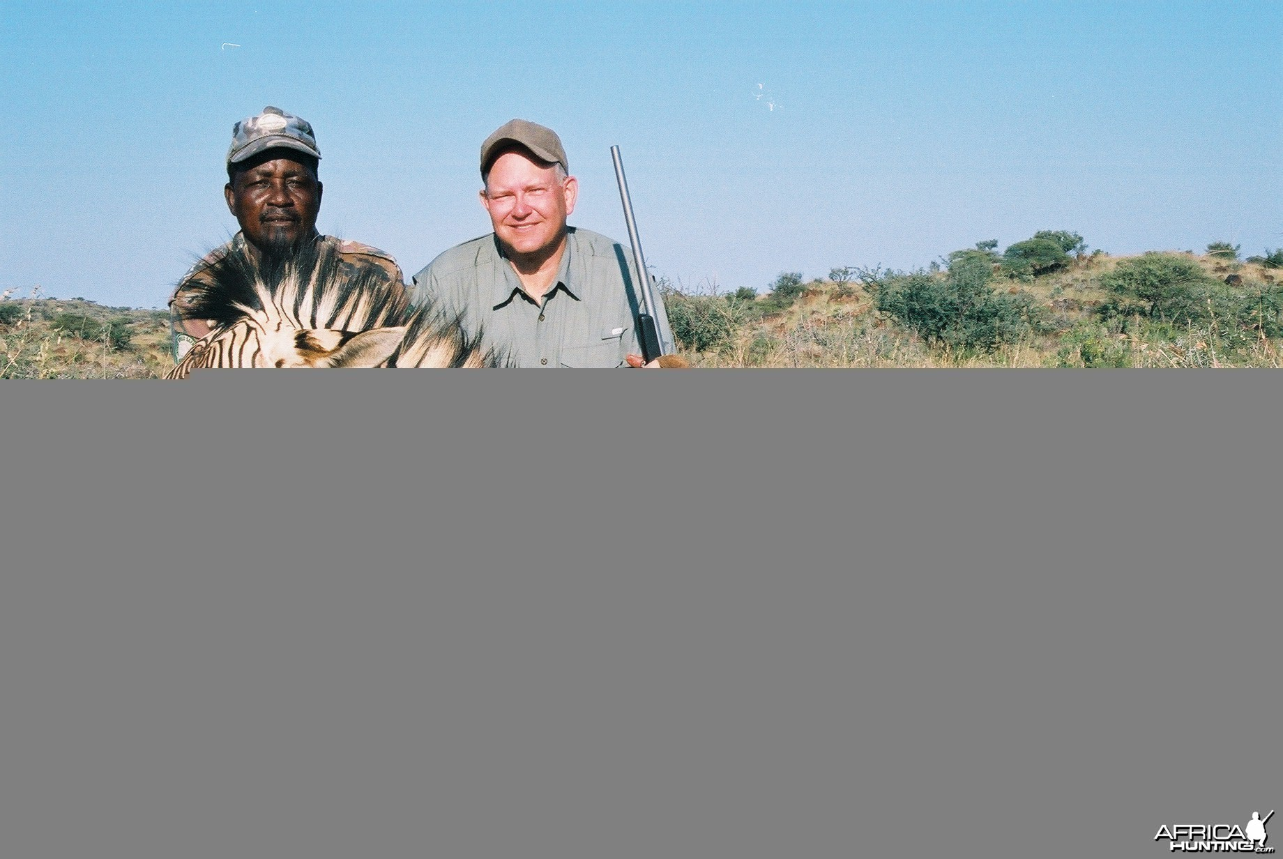 Hunting Mountain Zebra with Wintershoek Johnny Vivier Safaris in SA