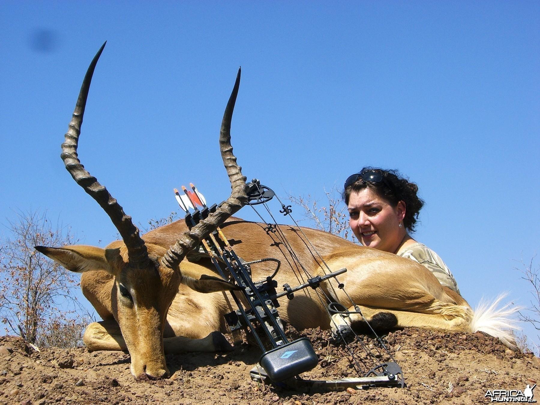 Bowhunting Impala