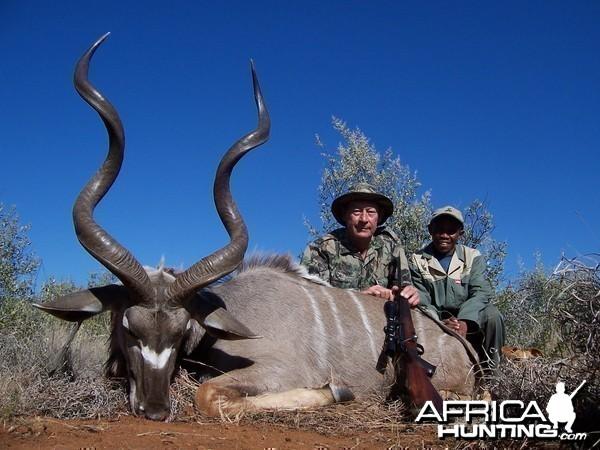 Hunting Kudu with Wintershoek Johnny Vivier Safaris in SA