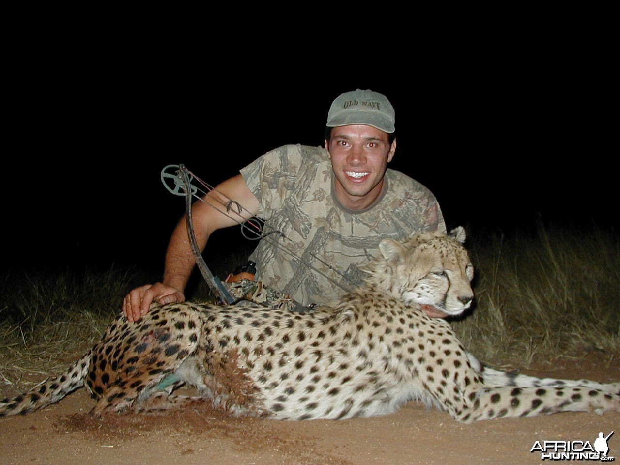Bow Hunting Cheetah First in Namibia