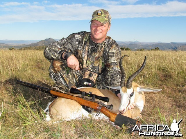 Hunting Springbok in SA