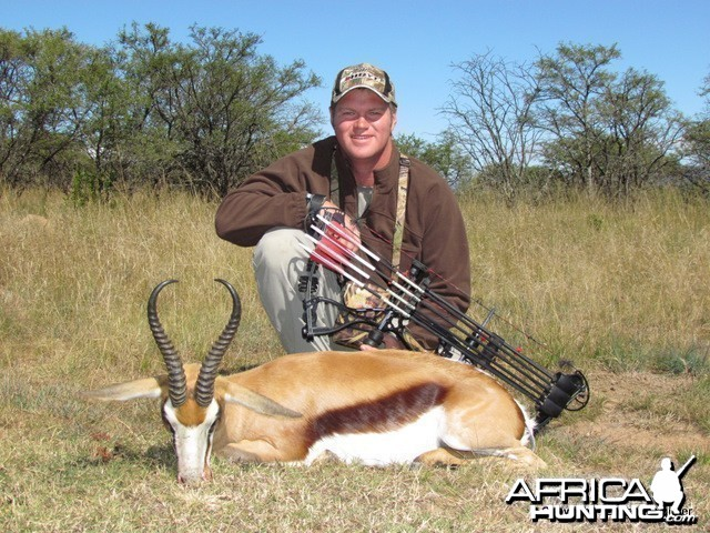 Bowhunting Springbok in SA